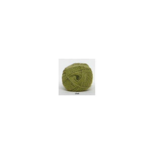 hjerte alpaca 1265 oliven