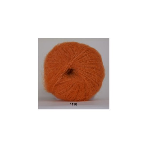 kidmohair / orange 1118
