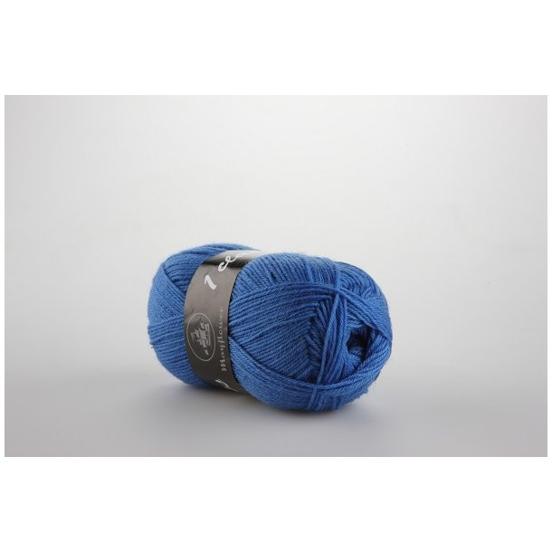 Strømpegarn blå