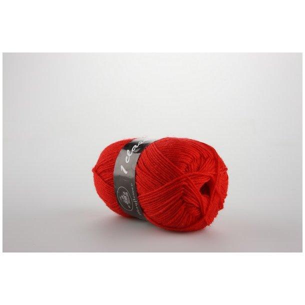 Strømpegarn postkasse rød