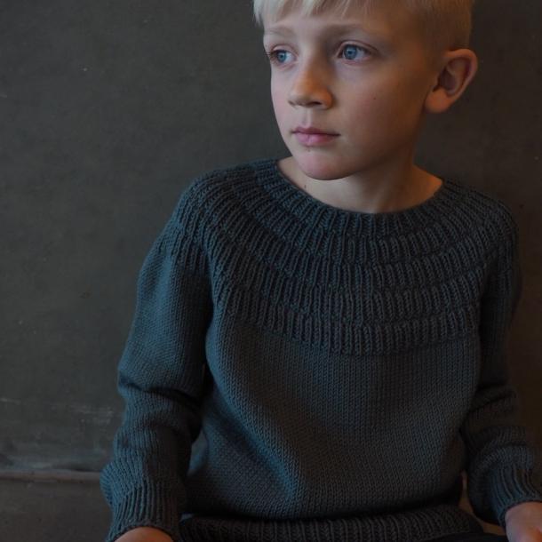 Ankers trøje junior - Strikkeopskrift