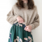 Ballonsweater fra PetiteKnit - Garnpakke