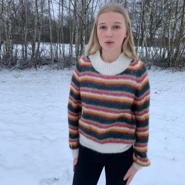 Johanne bluse - Strikkekit / Hjertegarn