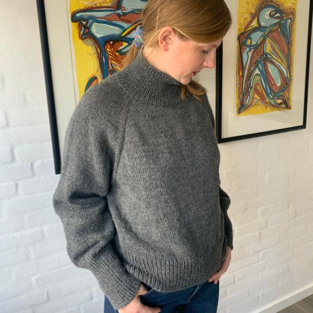 Louvre Sweater fra PetiteKnit - garnpakke