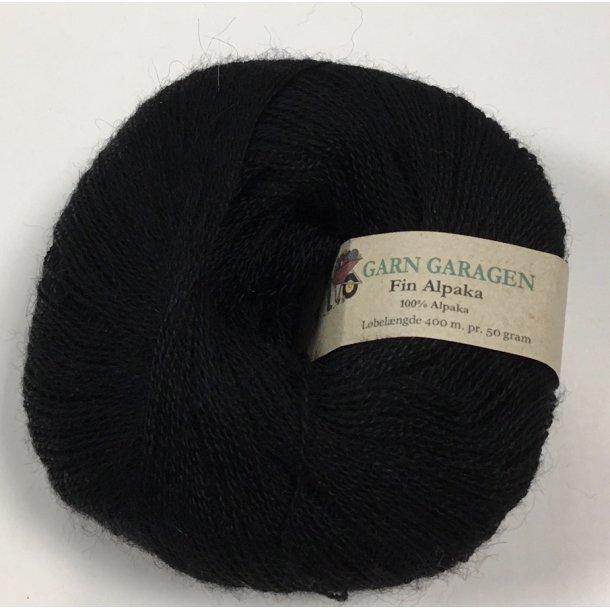 Superfin Alpaka Black