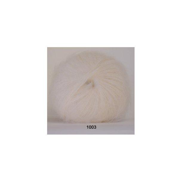 Silk kidmohair natur
