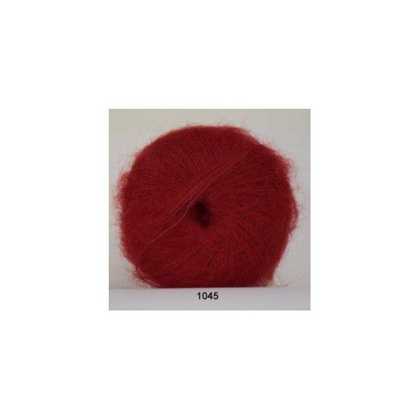 kidmohair / rød 1045