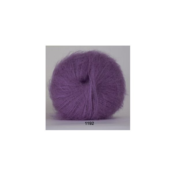 Silk kid mohair lilla