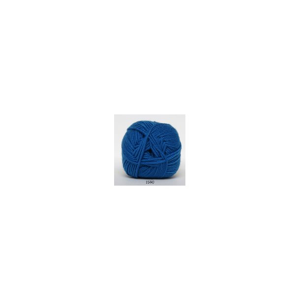Extrafin merino klar blå