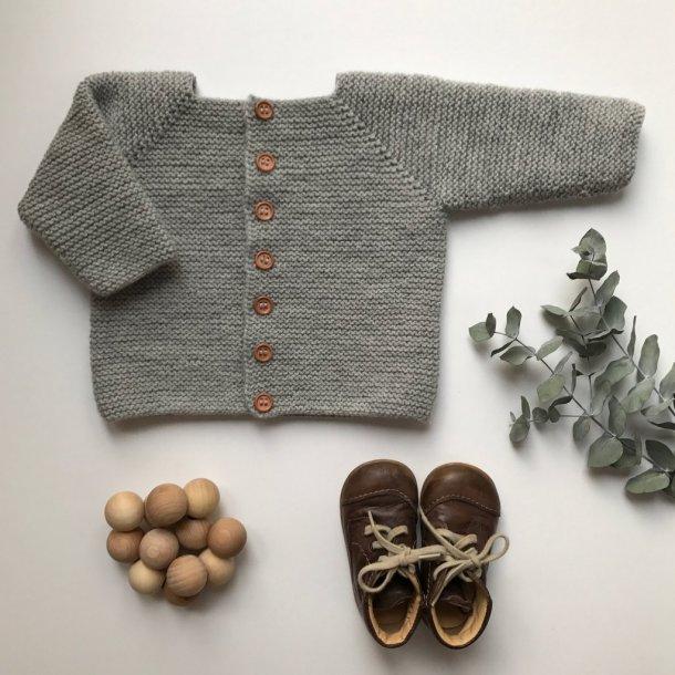 Begynder jakken- strikkekit