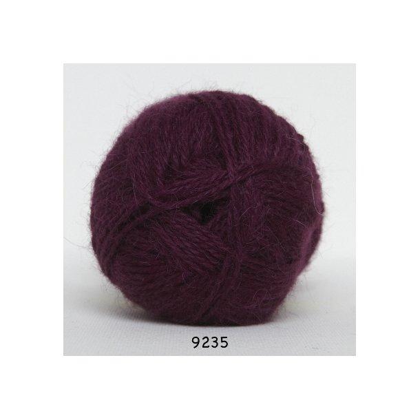 hjerte alpaca 9235 blomme