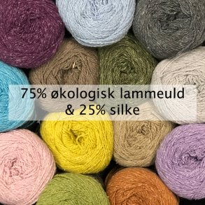 Hjertegarn wool silk