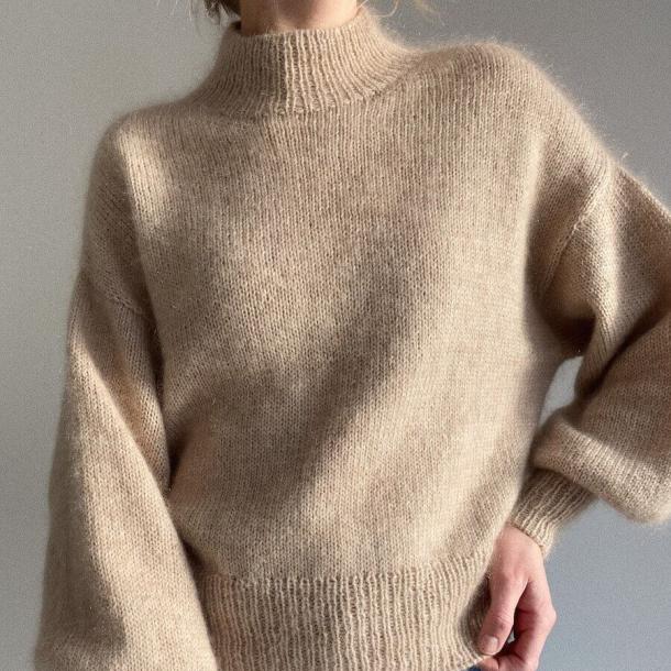Ballonsweater - Strikkeopskrift