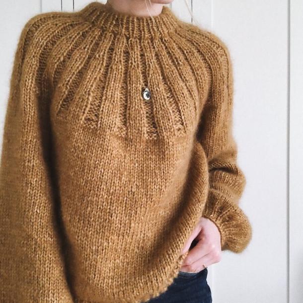 Sunday Sweater - Strikkeopskrift