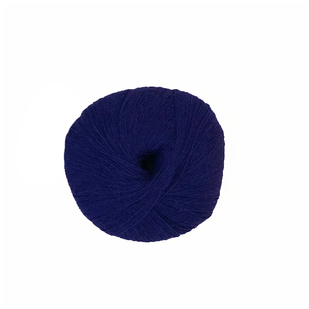 Superfin alpaka blå lilla