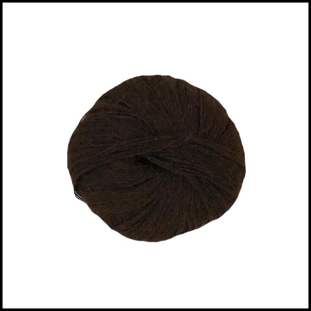 Superfin alpaka mørke brun